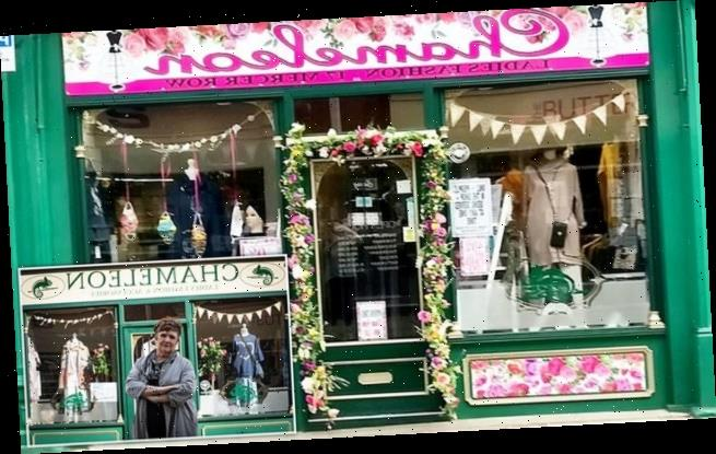 Shop owner forced to replace new floral signs after ONE complaint