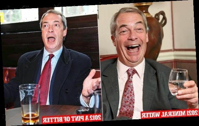 Former UKIP Farage talks pub passports and Johnson backing Beijing