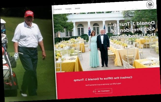 Trump launches official website boasting of his 'magnificent legacy'