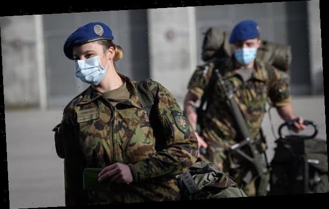 Women in Swiss military will no longer have to wear MEN'S underwear