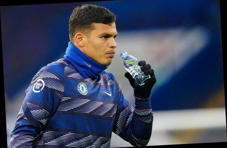 Chelsea working on new Thiago Silva contract as AC Milan consider permanent £25m Fikayo Tomori transfer
