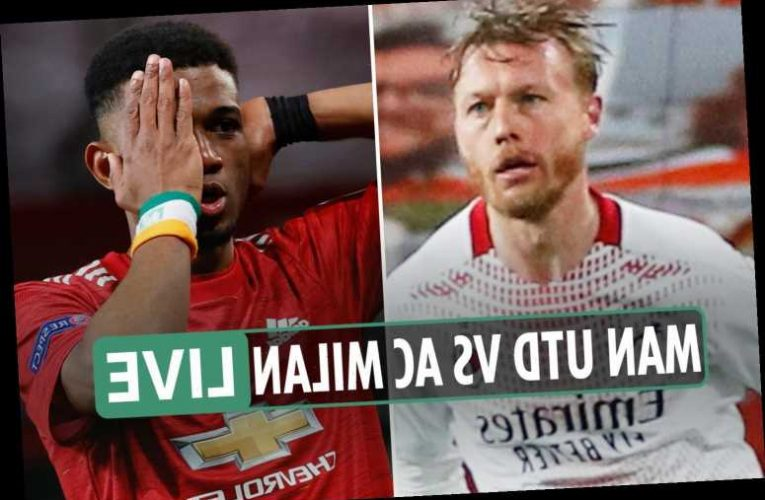 Man Utd 1 AC Milan 1 LIVE REACTION: Kjaer nets vital away goal in stoppage time to cancel out Amad Diallo's opener