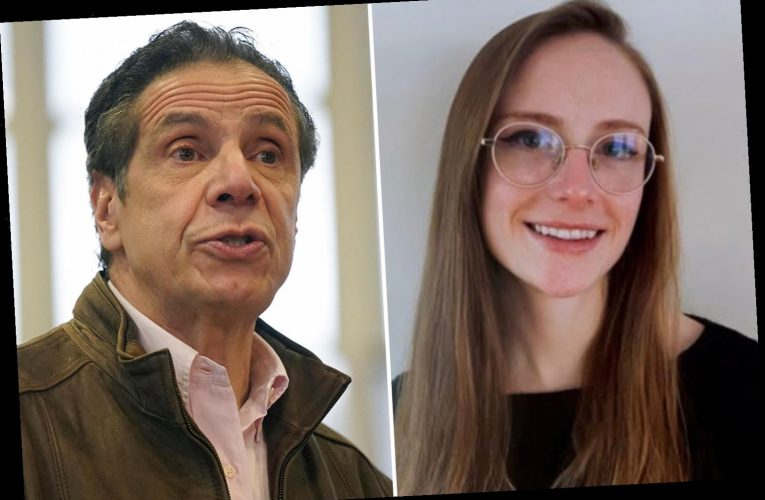 Who is Charlotte Bennett and what has she accused Andrew Cuomo of?