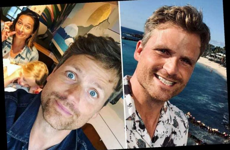 A Place in the Sun's Ben Hillman begs 'give me a break' as he's grilled about Instagram pic without wife and daughters