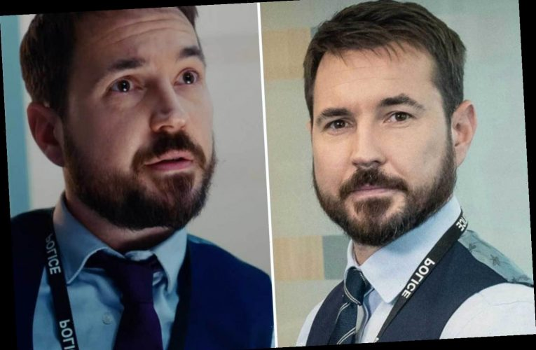 Line of Duty's Martin Compston horrified when Steve Arnott outfits didn't fit after piling on pounds in lockdown