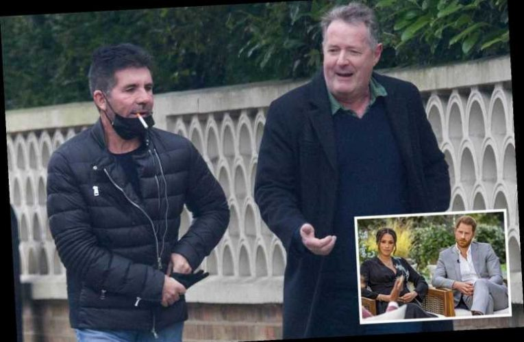 Piers Morgan reveals he was AMBUSHED by an old lady over Meghan Markle rant during walk with Simon Cowell