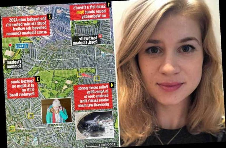 Sarah Everard missing – Police had been told of other attacks on lone women near where 33-year-old vanished