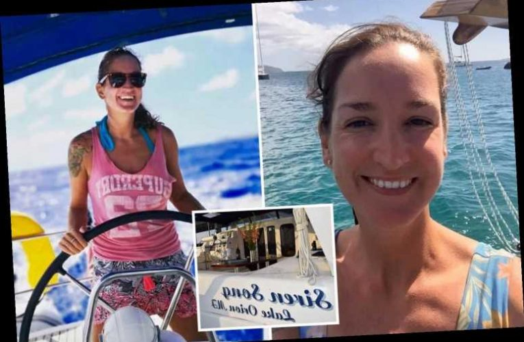 Hunt for missing Brit woman after boyfriend told cops she 'might have fallen' from their catamaran in the Caribbean