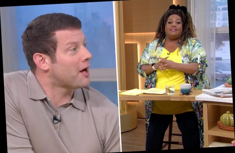 This Morning viewers shocked as Dermot O'Leary SWEARS over dishwasher row with his wife