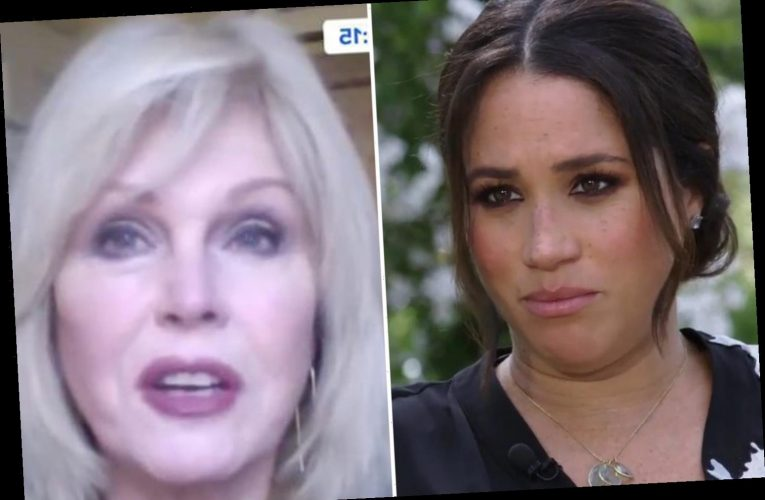 Joanna Lumley says she 'feels sorry' for the royals after Meghan Markle's interview spreads 'uneasy and unhappiness'