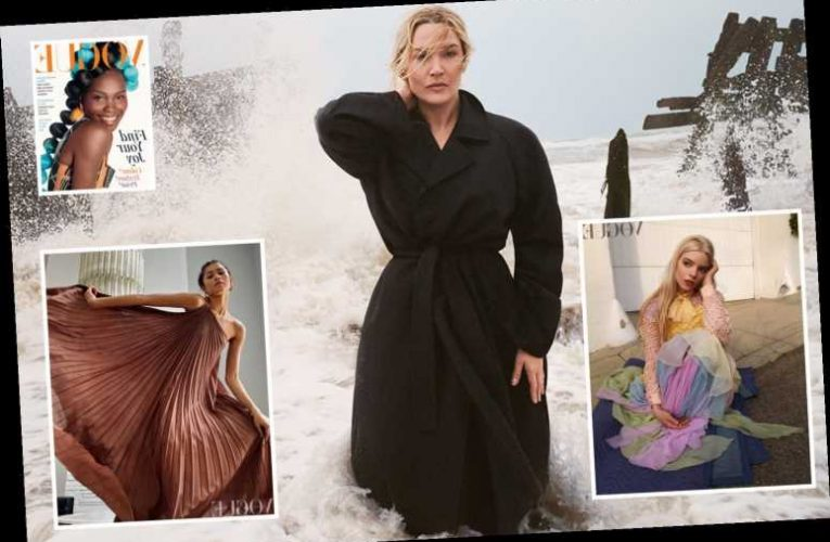 Kate Winslet proves she's anything but washed up in stunning shoot for British Vogue