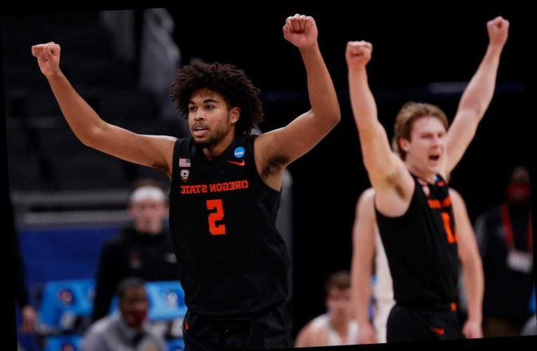 Cinderella Oregon State finds way to stop Loyola in March Madness