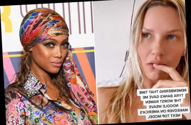 America's Next Top Model alum slams Tyra Banks for giving her 'the worst weave ever' that looked like 'ramen noodles'