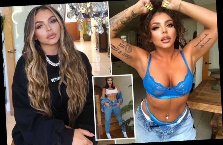 Inside Jesy Nelson's cosy home with huge log fire, Little Mix memorabilia and traditional white kitchen