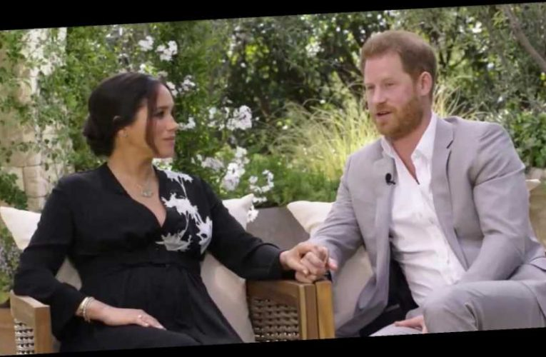 ITV confirm Prince Harry and Meghan Markle's explosive Oprah interview will air on Monday after £1m deal