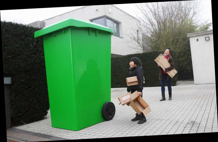 UK recycling system is 'struggling to cope' with increase in online delivery packaging during lockdown, survey says