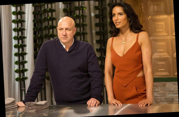 Who are Top Chef's Padma Lakshmi and Tom Colicchio?
