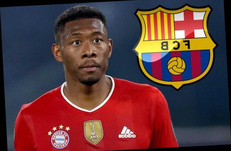 Barcelona 'reach verbal agreement with David Alaba' in Chelsea transfer blow but £1bn debt means they must sell first