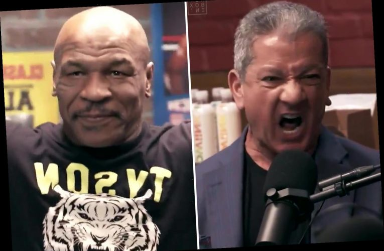 Watch as thrilled Mike Tyson is given amazing introduction by UFC announcer Bruce Buffer – brother of boxing's Michael