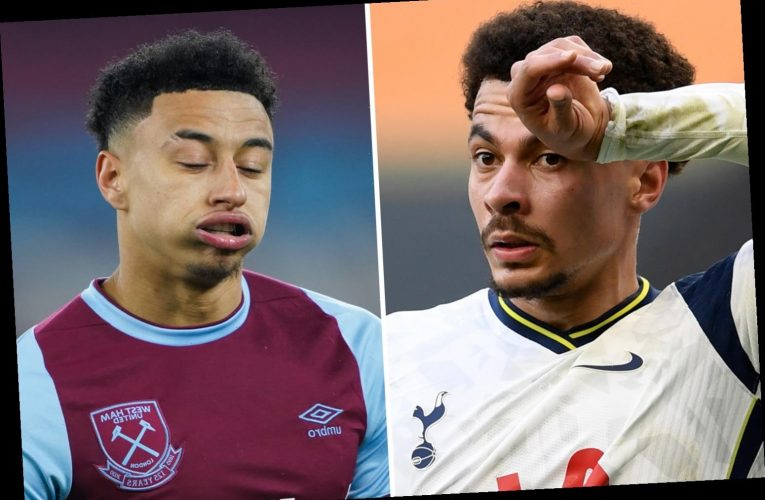 Seven ex-England squad regulars who could miss out on Euro 2020 including Dele Alli and Jesse Lingard