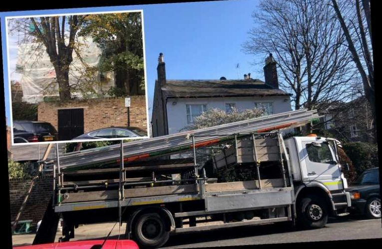 Lewis Hamilton drops hint he will return to live in £18million west London mansion he's been renovating since 2017