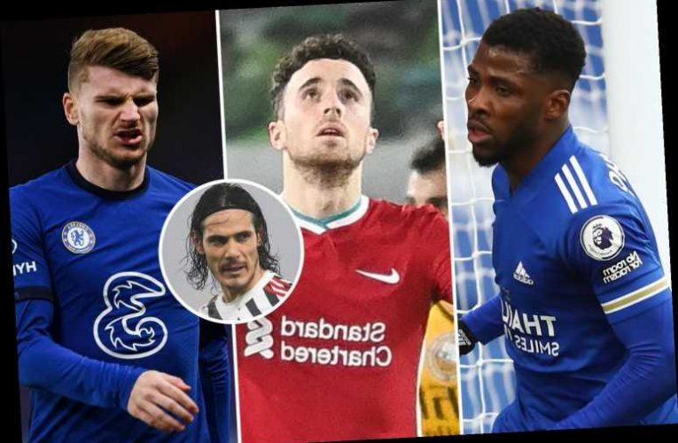 Man Utd, Leicester, Chelsea, Liverpool, West Ham and Arsenal run-ins compared as top four race hots up