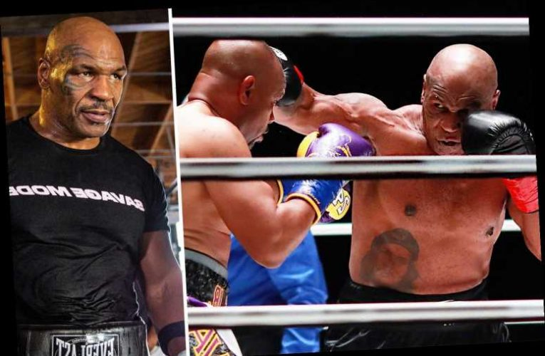 Mike Tyson wants to 'go all out' in next fight after holding back against Jones Jr and reveals gruelling fitness workout