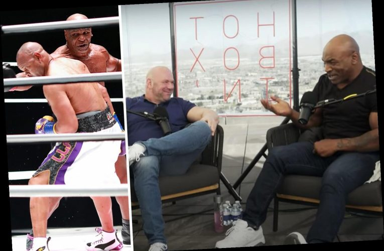 Mike Tyson blasted UFC boss Dana White for telling him not to fight at 54 and says he couldn't turn down $100m pay day