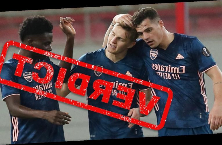 Arsenal verdict: Odegaard's stunner came just as Gunners fans were giving up on him… now he must keep up this form