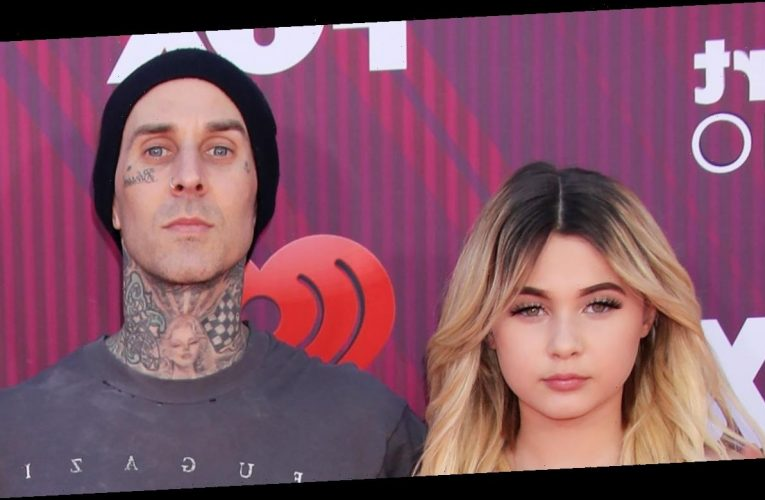 Watch Travis Barker's Daughter Hide His Face Tattoos With Foundation