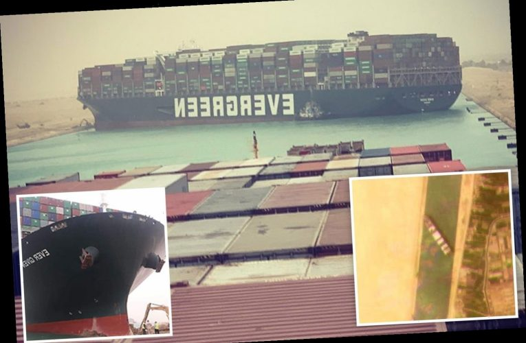 Suez Canal standstill sees oil prices rise as team struggle to unblock 'mega ship' that could be stuck for days
