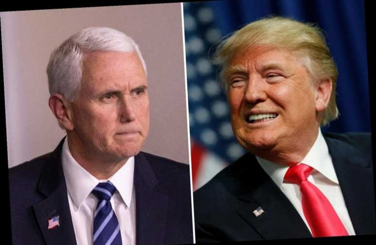 Trump 'thinking about running for president in 2024 WITHOUT Pence as team considers black or female running mate'