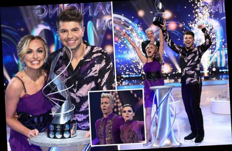 Sonny Jay wins Dancing on Ice beating Faye Brookes and Colin Jackson