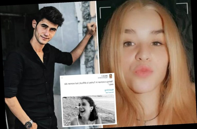 Teen female rights activist stabbed to death by boyfriend days after posting that women 'die far too easily' in Turkey
