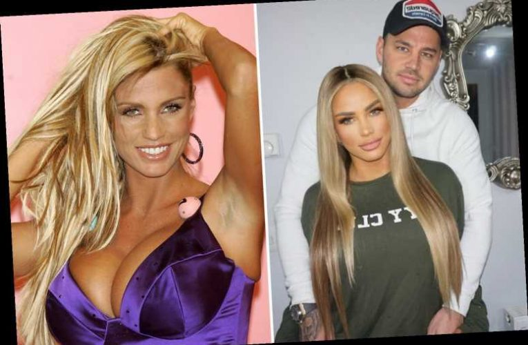 Katie Price says 'Jordan is over' after Carl Woods bans her from having her boobs out as she vows to marry him
