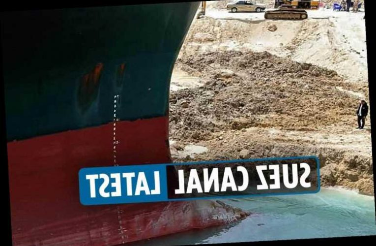 Suez Canal crisis latest: Ever Given's propeller & rudder working again but no prediction when vessel will be refloated