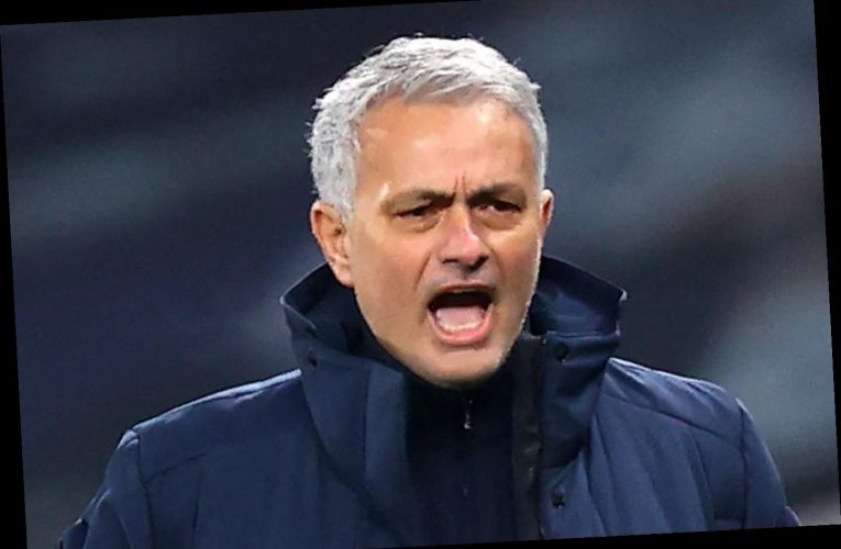 Jose Mourinho slams Spurs doubters and jokes 'not bad for defensive side' as 4-1 Palace win takes them to 100 goals