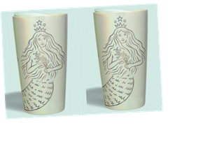 Starbucks' Spring 2021 Cold Cups & Tumblers Feature Pretty Green Hues & Siren Designs