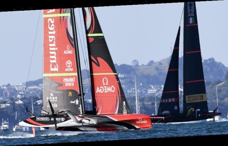 Team New Zealand hit top gear to level America's Cup