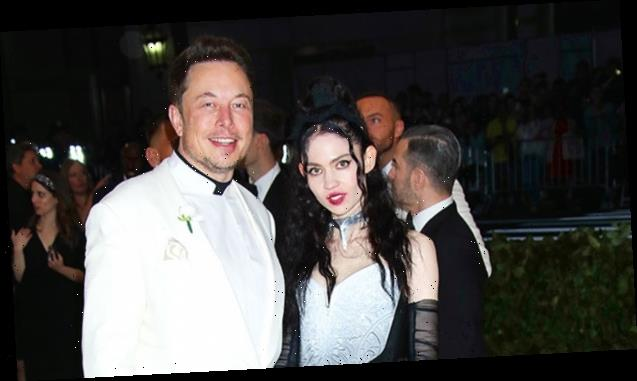 Elon Musk & Grimes Pose With Their Son For Rare Family Photo Amidst Private Relationship