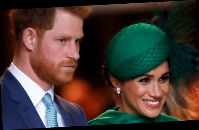 Prince Harry and Meghan Markle pictured after explosive Oprah trailers