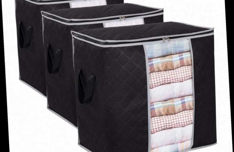 Amazon Shoppers Can't Believe How Much Clothing These $18 Storage Bags Hold