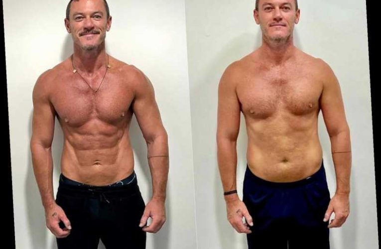 Luke Evans Shows Off Body Transformation After '8 Months of Hard Work': 'I Got There'
