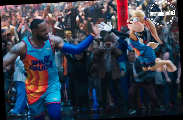 Get a First Look at LeBron James in Space Jam: A New Legacy: The 'Best Team Ever Assembled'