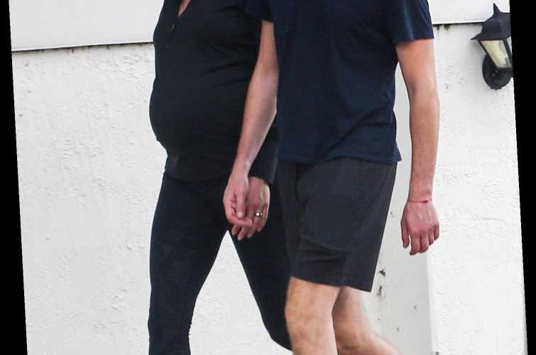 Pregnant Karlie Kloss and Husband Joshua Kushner Enjoy Walk Together Before Arrival of Baby