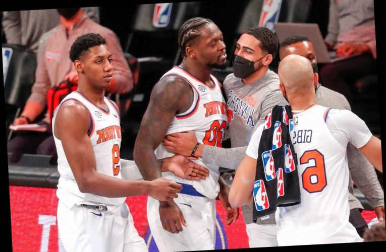 Julius Randle's antics overshadowed a significant Knicks moment