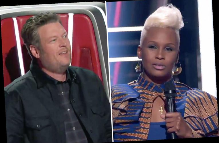 The Voice's Blake Shelton ripped after he tries to win over reggae artist Pia saying Gwen is an 'expert' in the genre
