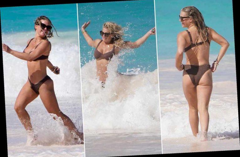 Bikini-clad Madison LeCroy escapes Alex Rodriguez drama in The Bahamas