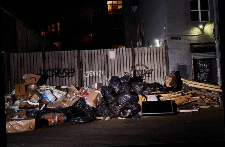 Hey, de Blasio, where's that stinkin' cleanup you promised?