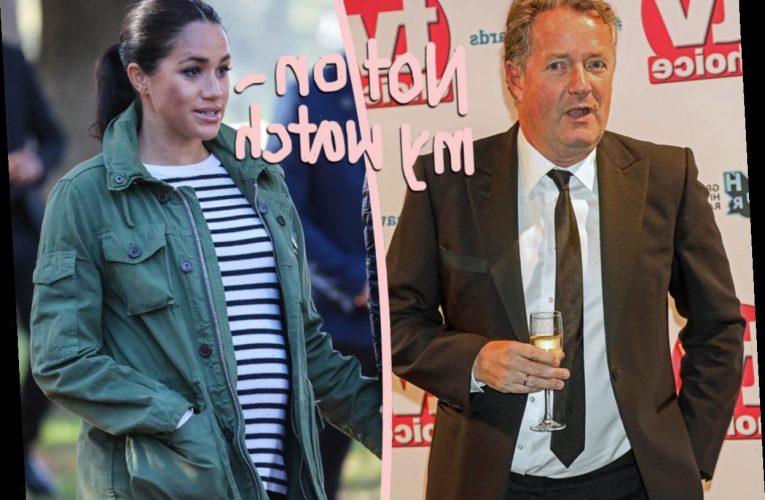 Meghan Markle Made Official Complaint About Piers Morgan's Remarks – And Yes, He's Still Bashing Her Following His GMB Exit!!